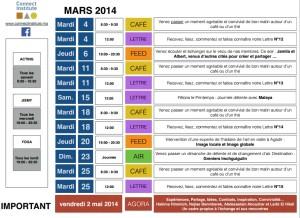 programme mars