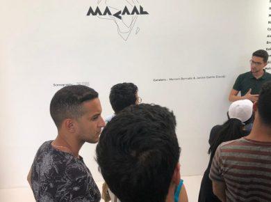 ACTSchoolyoussoufia-Visite-Musée d'Art Contemporain Africain Al Maaden