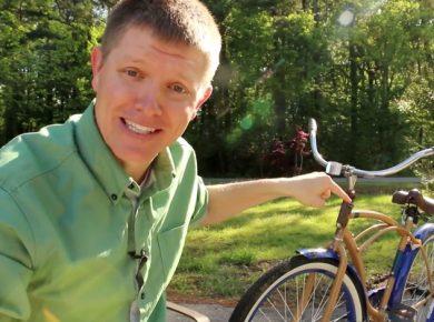 APPRENTISSAGE – Vélo inversé