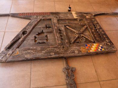 TRAVAUX MANUELS – Porte amazigh