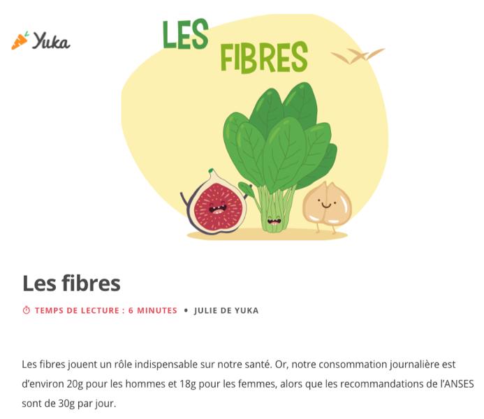 MOMKIN - DÉBAT : L'importance des fibres dans notre alimentation
