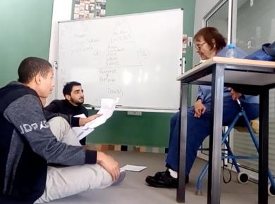 MOMKIN - Les participants filment leur journée à Connect